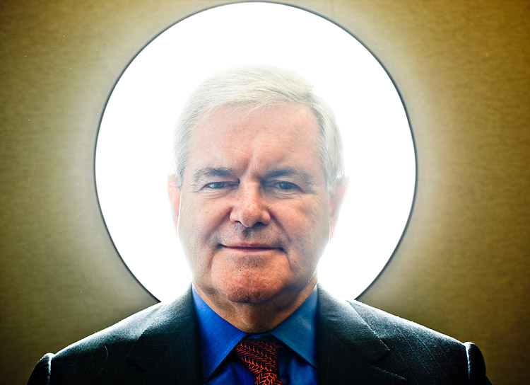 newt gingrich young. Eye of Newt was never