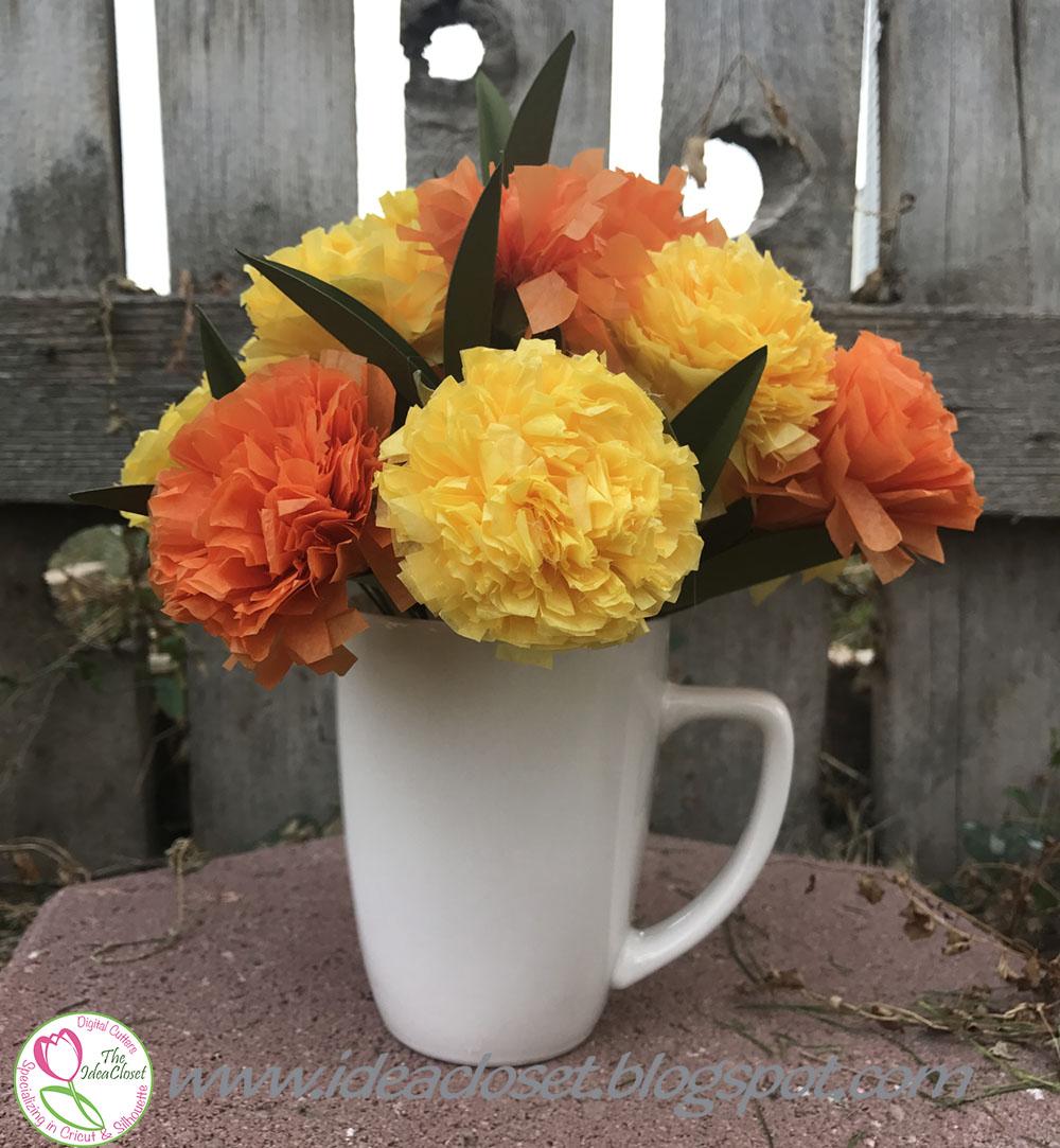 Tissue Paper Carnations And A Big Announcement Idea Closet