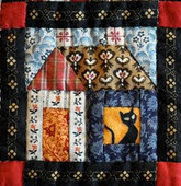 Huisjesquilt: Building Houses from Scraps