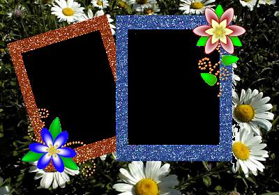 marco de dos fotos