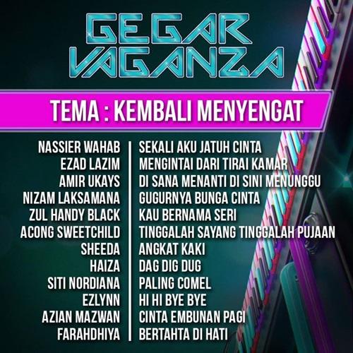 Konsert Gegar Vaganza 2015 minggu 1, konsert pertama Gegar Vaganza musim kedua, peserta Gegar Vaganza tahun 2015, konsert pengenalan GV2 minggu 1, senarai lagu konsert Gegar Vaganza musim 2 minggu 1, gambar Gegar Vaganza 2015