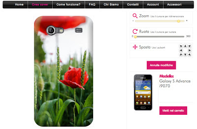 cover personalizzate galaxy s advance i9070