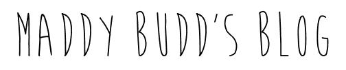 Maddy Budd's Blog