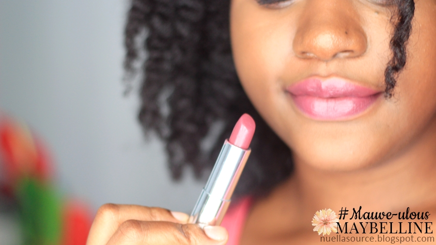 Maybelline Mauve Lipstick Mauve-ulous de Maybelline