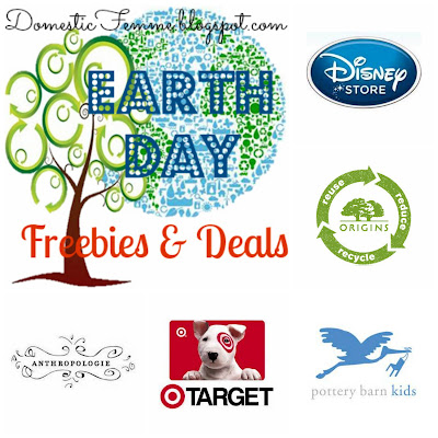 Earth Day Freebies Deals 2013 Domestic Femme