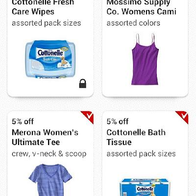 Target Cartwheel App #CottonelleRoutine