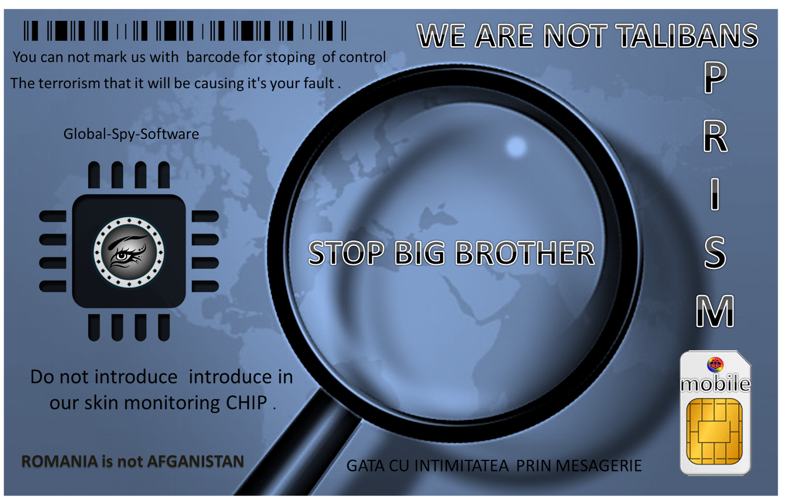 CAMPANIA ANTI BIG BROTHER