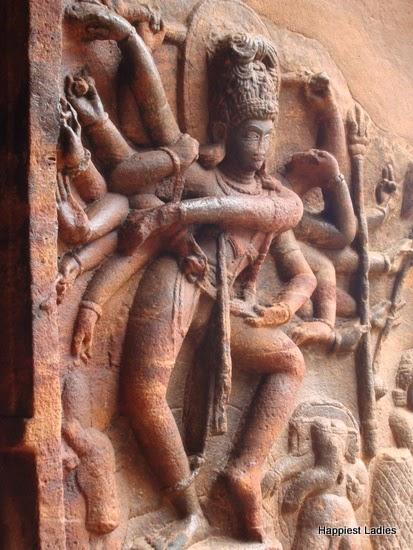 Badami Cave No1 Natya Shiva