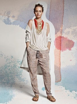 H&M Conscious primavera verano 2014 pantalón top