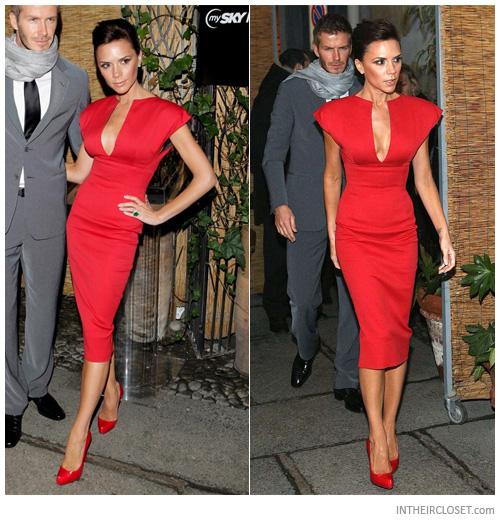 Victoria Beckham'ın Elbiseleri