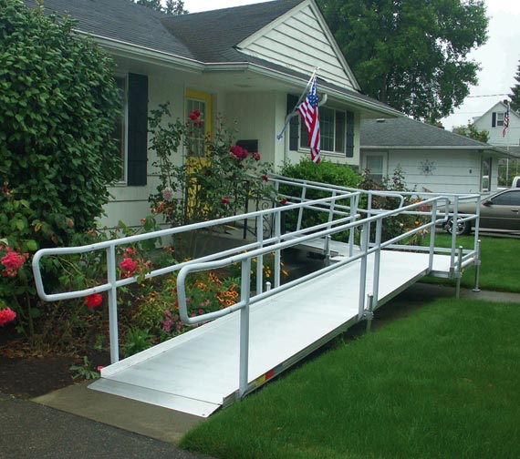 Access mobility equipment aluminum modular and wooden for Modular homes handicapped accessible