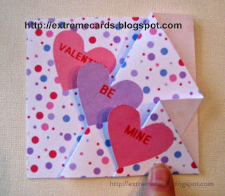 print and cut prototype trifold valentine