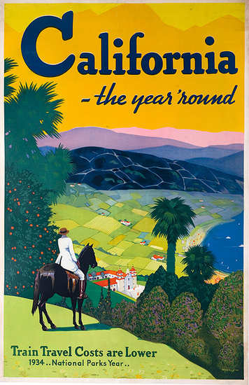 Vintage California Poster 83
