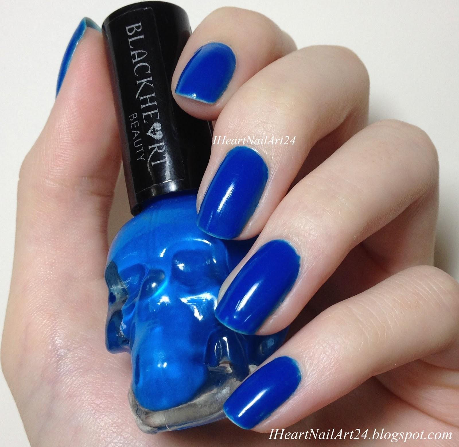 Black Heart Nail Polish: Black Heart Beauty Nail Polishes Swatches & Review