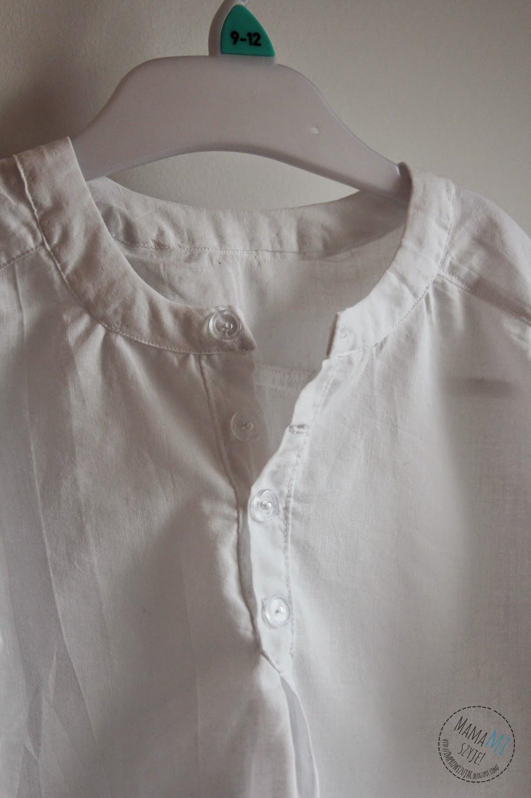 dziecięca elegancka koszulka