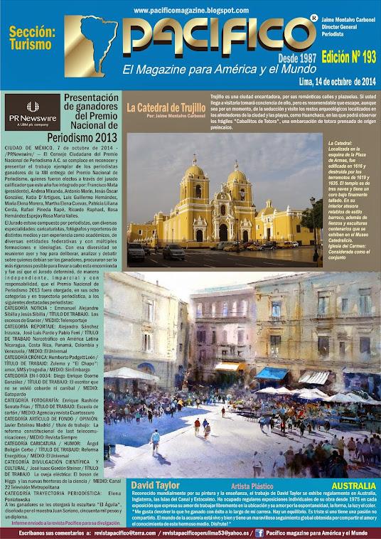 Revista Pacífico Nº 193 Turismo