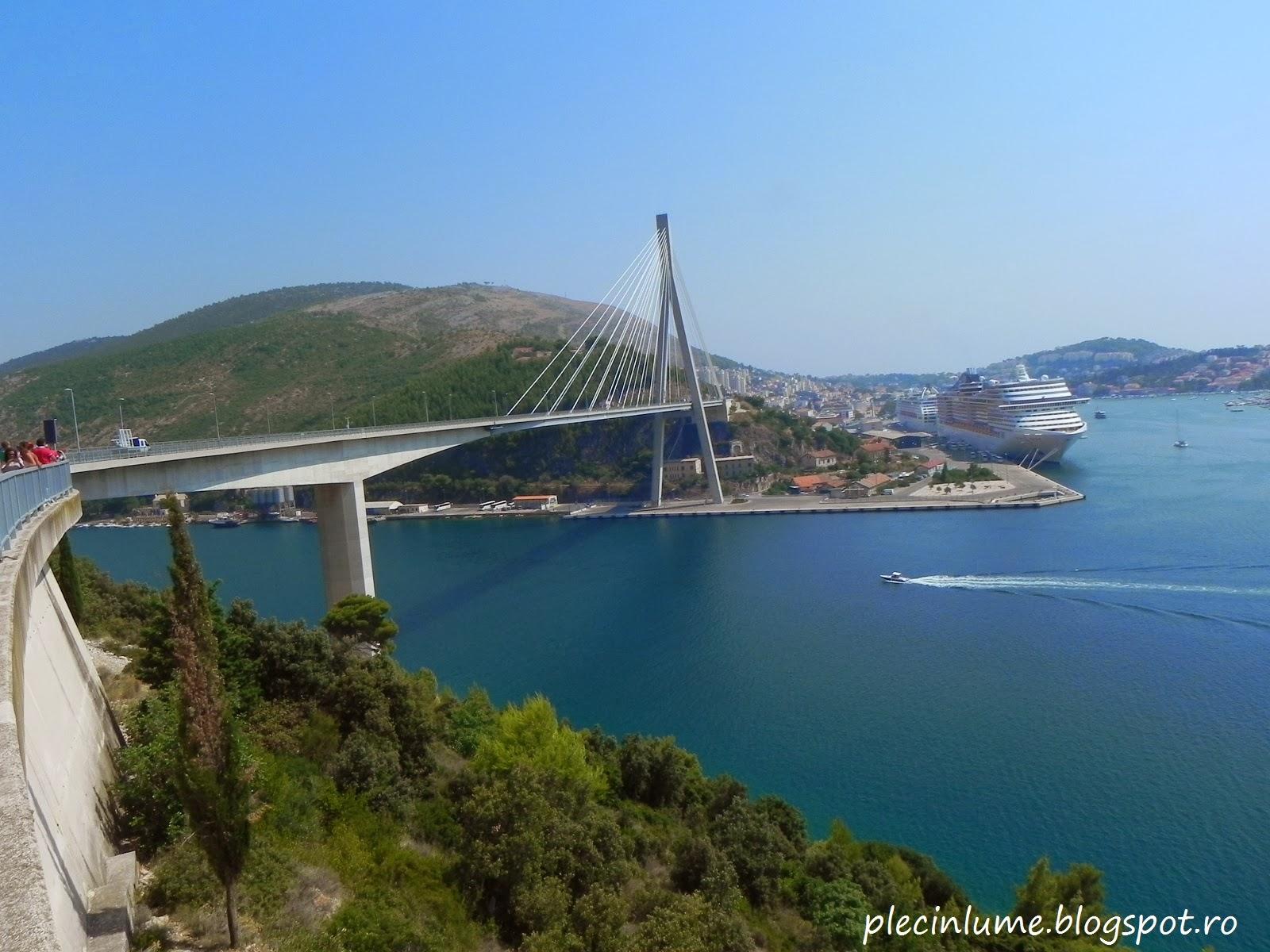 Pod spre Dubrovnik in Croatia