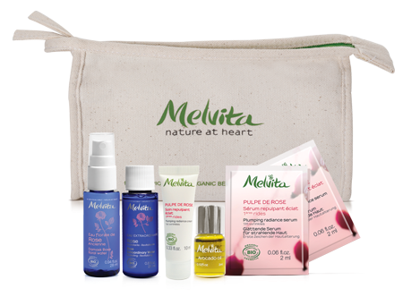 Melvita Starter Kit, Organic products, Nourishing, Radiance, Purifying, Regenerate & Brightening