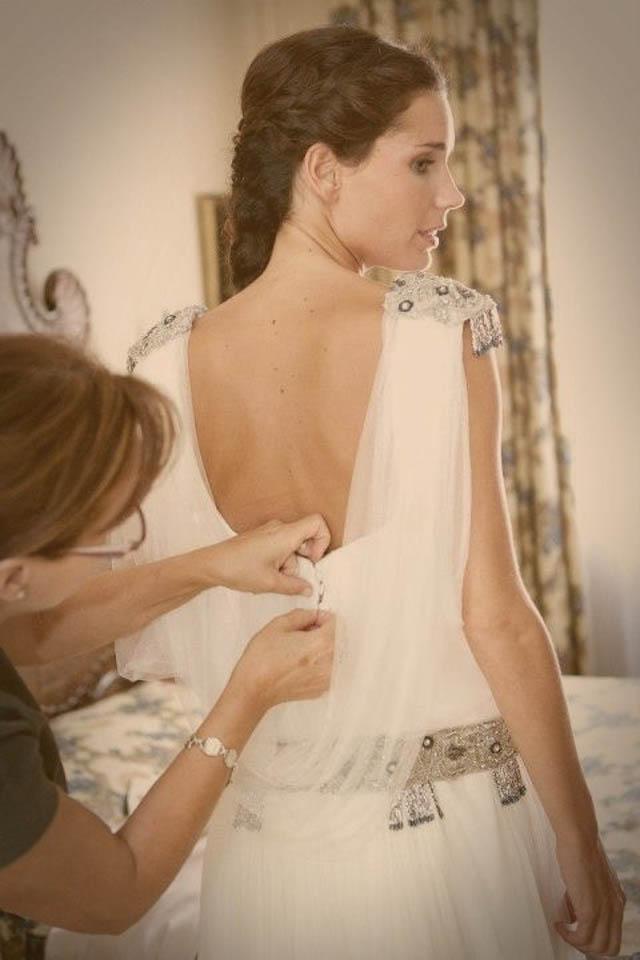 boda vestidos novia espaldas wedding dress back beba's closet