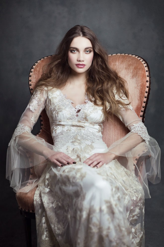 claire pettibone 2015 bridal collection gothic angel belle the magazine