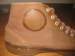 40's HOOD RUBBER    BROWN CANVAS