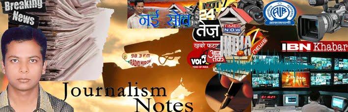 Journalism Notes
