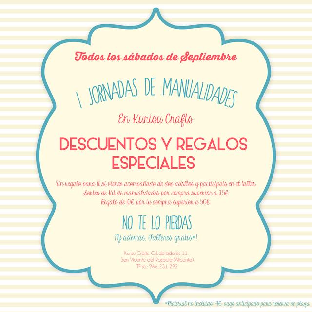 Ofertas manualidades en Alicante