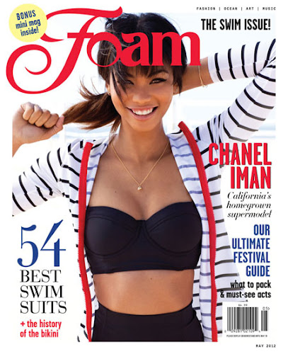 Chanel Iman Foam magazine Photoshoot- 6 Pics