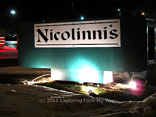 Roadside Sign for Nicolinni's Ristorante in Akron, Ohio