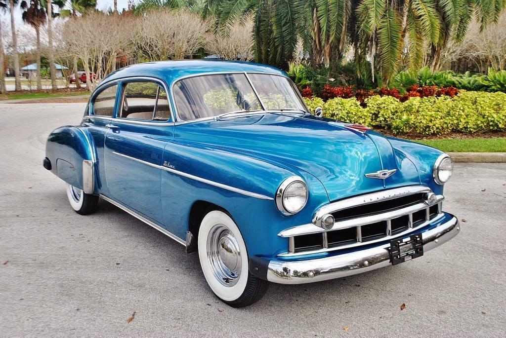 All American Classic Cars: 1949 Chevrolet DeLuxe Fleetline ...