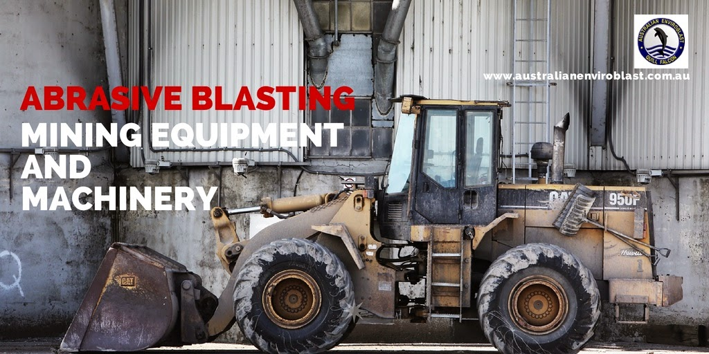 Abrasive blasting in the Australian mining industry
