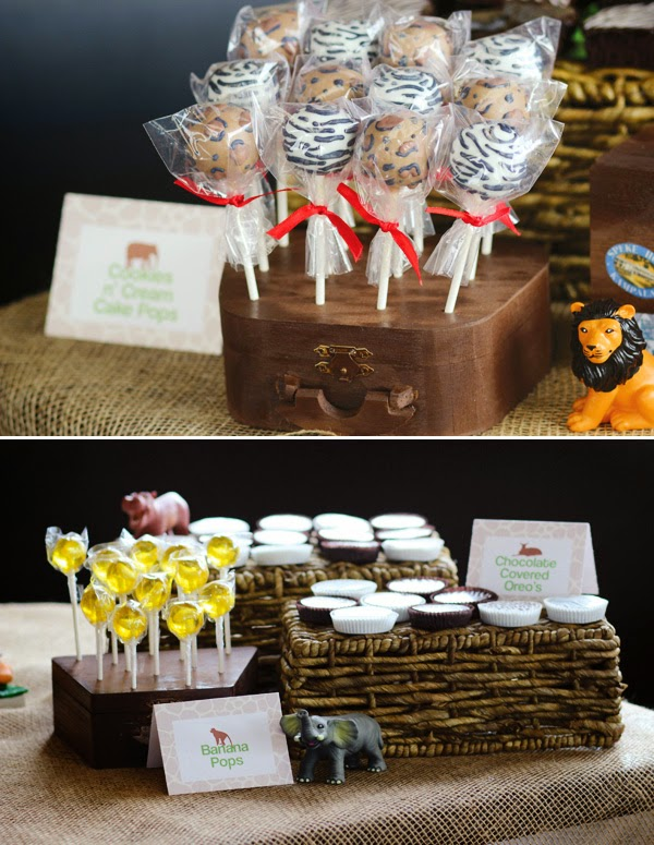 wild Jungle Safari Baby Shower Theme