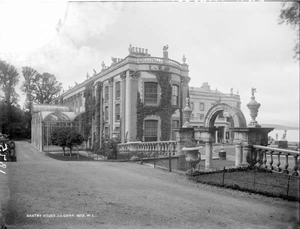 Historic houses of ireland bantry house bantry co cork for Bantry house