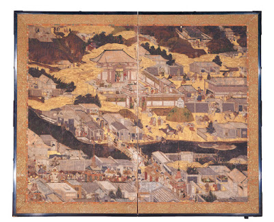 Rakuchu Rakugai Zu, Kyocera Museum of Art.