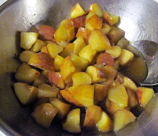 Mansanada spiced apples with honey