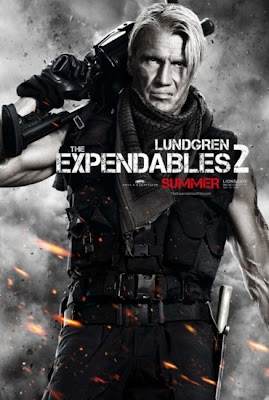 Dolph Lundgren The Expendables 2 2012