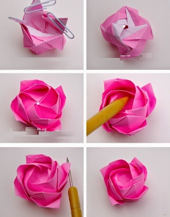 Origami rose easy instructions simple origami for kids origami rose easy instructions mightylinksfo