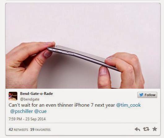 IPhone 6 porque se curva en el bolsillo