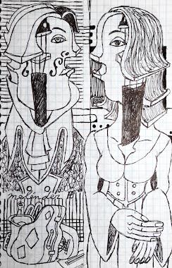 Una señora viola