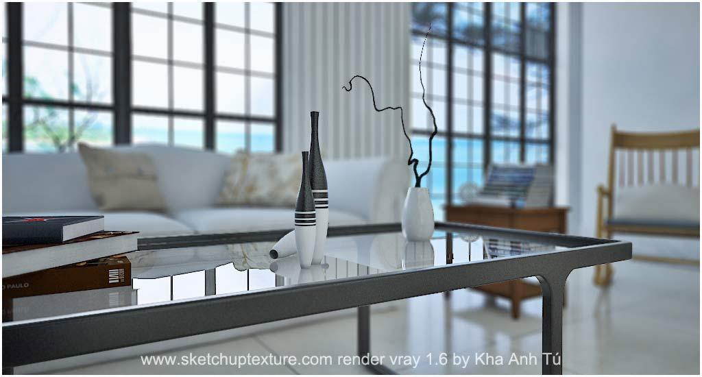 Sketchup Texture Sketchup 3d Model Living Room 21 Visopt