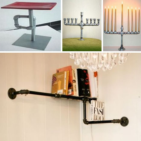 Plumbing Pipe Furniture