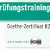 نمادج تمارين تدريبية لامتحان B2 في اللغة الالمانية من مؤسسة جوته  مع الصوتيات و الحلول Pruefungstraining B2