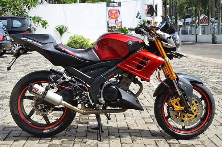 Modif Warna Yamaha Vixion 2013
