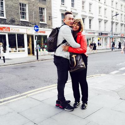 Foto: AC Mizal & Keluarga 'Goes Hollywood' Di Kota London