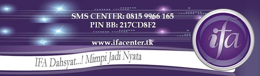 IFA CENTER | IFA DAHSYAT | IFA DAHSYAT INDONESIA | PUSAT IFA DAHSYAT | DEPOT IFA DAHSYAT | STOKIST