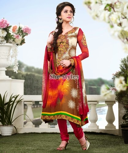 Indian Embroidered Lawn Suits