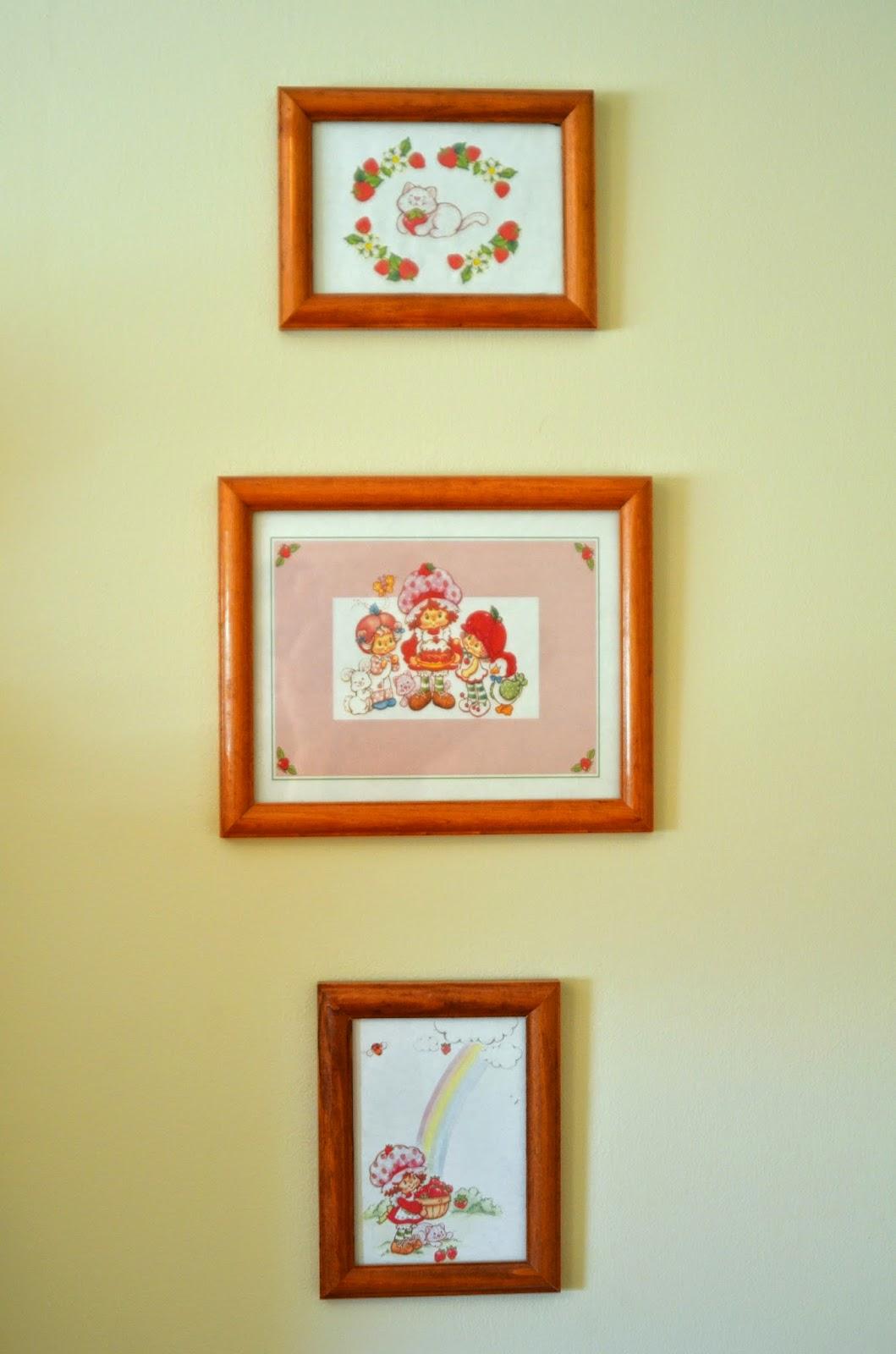 The Imaginative Seamstress: My Strawberry Room