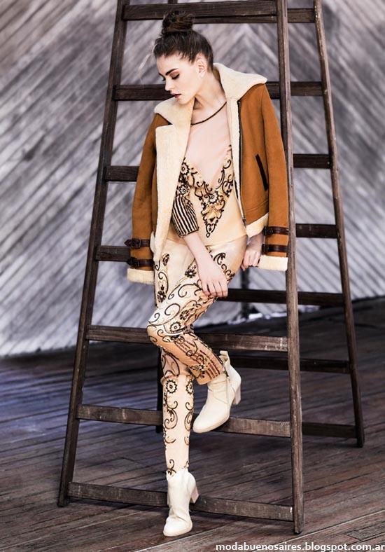 Moda marcas argentinas de ropa y accesorios. Uma coleccion otoño invierno 2014. Moda invierno 2014.