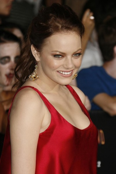 Sexiest Women Alive of November 2012 Emma Stone Hot in Red