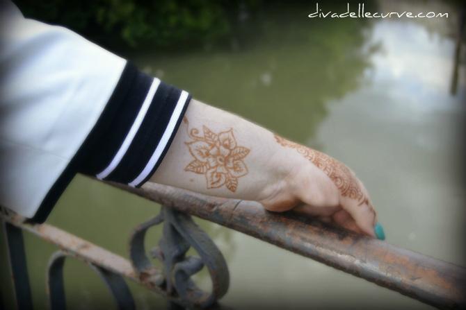 mehndi tatuaggio henné body art